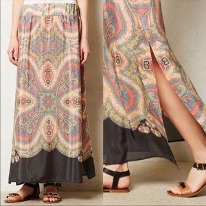 Sm Anthropologie Vanessa Virginia Palme Maxi Skirt